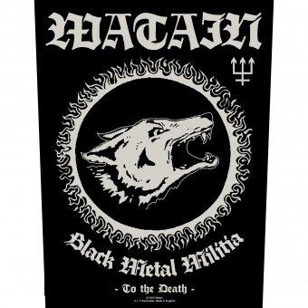 Rückenaufnäher Watain Black Metal Militia