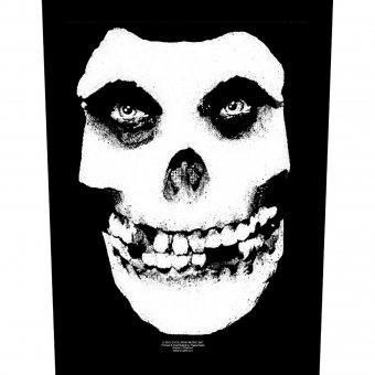 Rückenaufnäher Misfits Skull