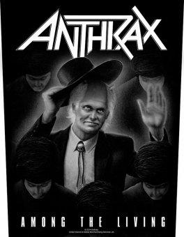 Rückenaufnäher Anthrax Among the Living