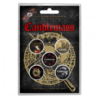 Button Set Candlemass Classic Albums