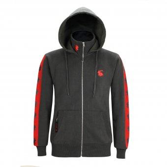 Kapuzenjacke Capricorn Rockwear Red Logo