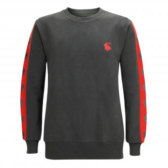 Sweat Shirt Capricorn Rockwear Red Logo