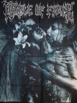Flagge Cradle of Filth Vampire