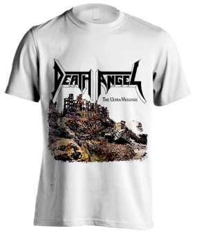 T-Shirt Death Angel The Untra Violence ( weiß )