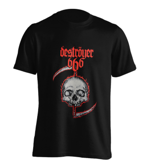 T-Shirt Destoyer 666 Skull