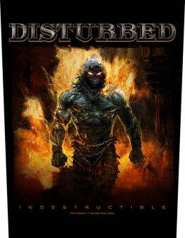 Rückenaufnäher Disturbed Indestructible
