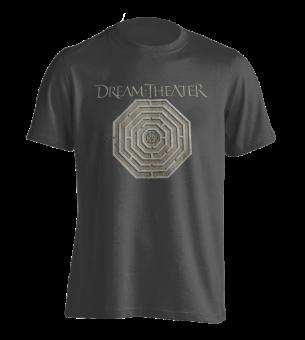 T-Shirt Dream Theater Maze ( grau )