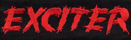 kleiner Aufnäher EXCITER Logo ( gestickt )