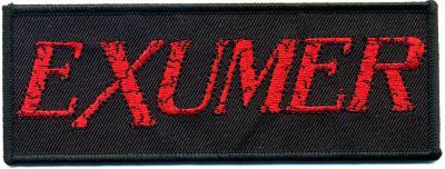 kleiner Aufnäher Exumer Logo