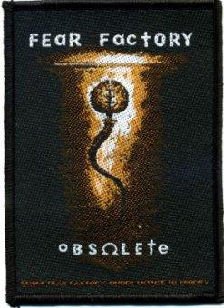 kleiner Aufnäher Fear Factory Obsolete