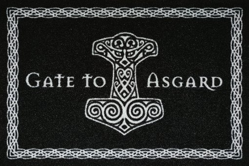 Fußmatte Gate to Asgard