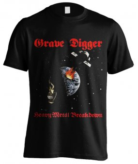 T-Shirt Grave Digger Heavy Metal Breakdown