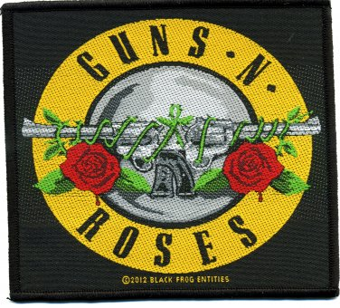 kleiner Aufnäher Guns'n Roses Classic Logo