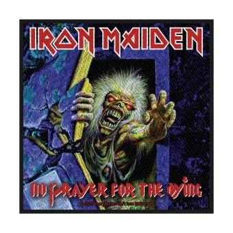 kleiner Aufnäher Iron Maiden No Prayer for the Dying