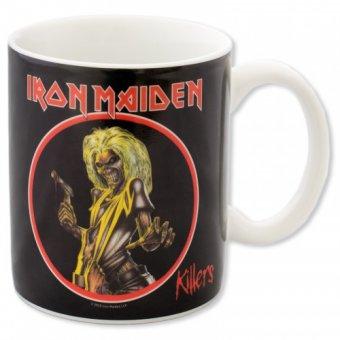 Tasse Iron Maiden Killers mit Thermoeffekt