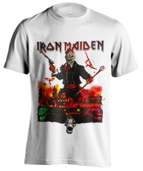 T-Shirt Iron Maiden Live in Mexico