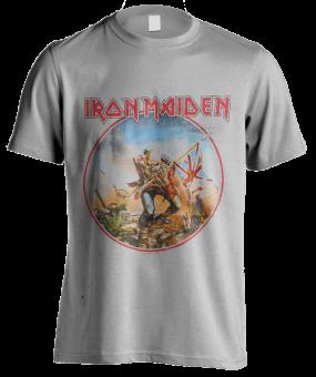 T-Shirt Iron Maiden The Trooper Vintage
