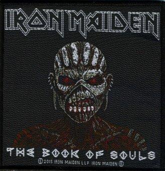 kleiner Aufnäher Iron Maiden Book of Souls