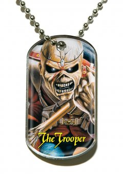 Kette Iron Maiden The Trooper Dog Tag