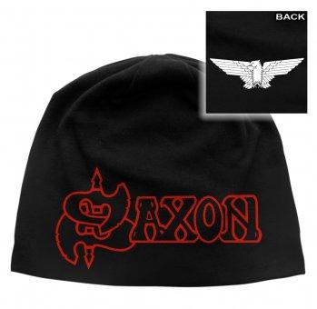 Beanie Saxon Logo & Eagle