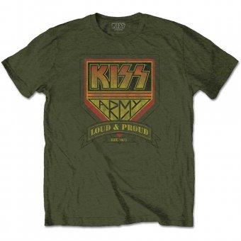 T-Shirt Kiss Army ( oliv )