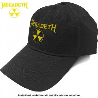 Baseball Cap Megadeth Logo