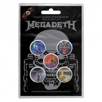 Button Set Megadeth Classic Albums