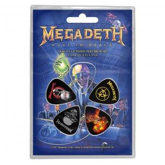 Plektrum Set Megadeth Vic