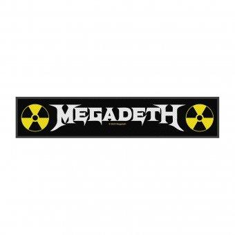kleiner Aufnäher Megadeth Logo Stripe