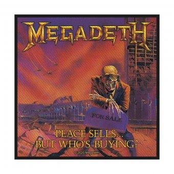 kleiner Aufnäher Megadeth Peace Sells.....