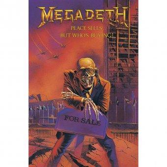 Flagge Megadeth Peace sells.....
