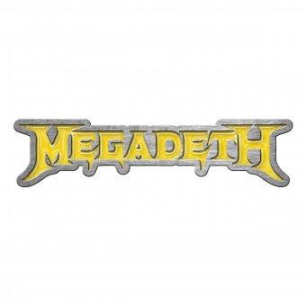 Pin Megadeth Logo
