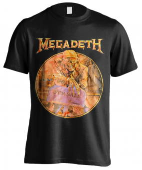 T-Shirt Megadeth Peace Sells