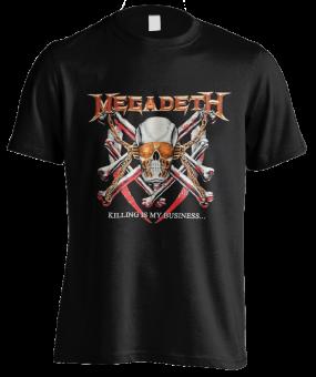 T-Shirt Megadeth Killing is my Business