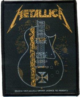 kleiner Aufnäher Metallica Hetfield Guitar