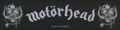 kleiner Aufnäher Motörhead Logo Stripe