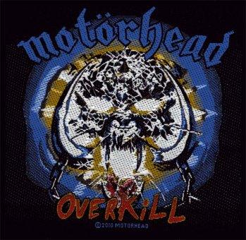 kleiner Aufnäher Motörhead Overkill