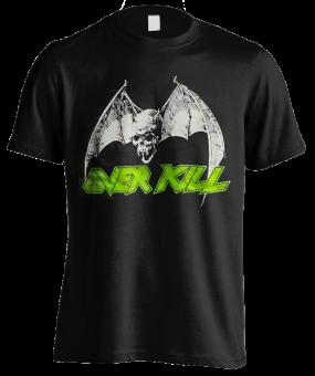 T-Shirt Overkill Classic Bat Skull