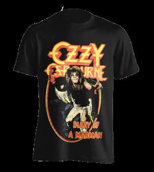 T-Shirt Ozzy Osbourne Diary of a Madman