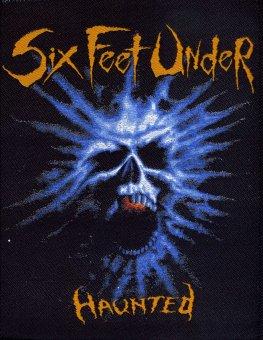 kleiner Aufnäher Six Feet Under Haunted