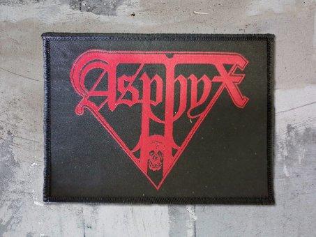 kleiner Aufnäher Asphyx Red Logo