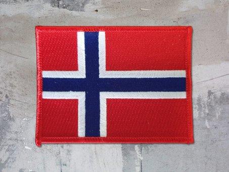 kleiner Aufnäher Norway Flag