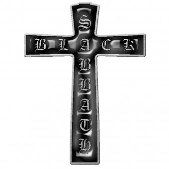 Pin Black Sabbath Cross