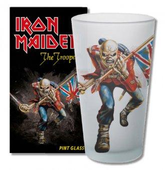Glas Iron Maiden The Trooper