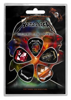 Plektrum Set Metallica Hardwired to self destruct