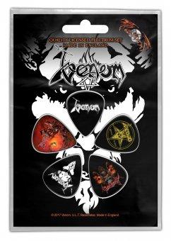 Plektrum Set Venom Black Metal