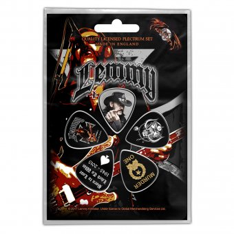 Plektrum Set Motörhead Lemmy