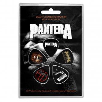Plektrum Set Pantera Classic Logos