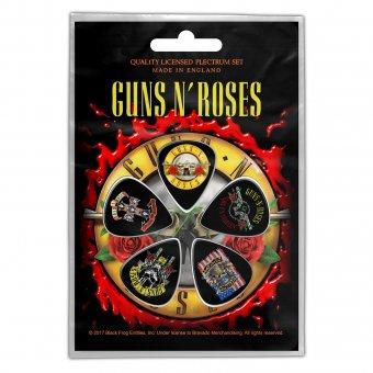 Plektrum Set Guns'n Roses Classic Logos