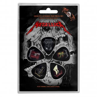 Plektrum Set Metallica Guitar Collection